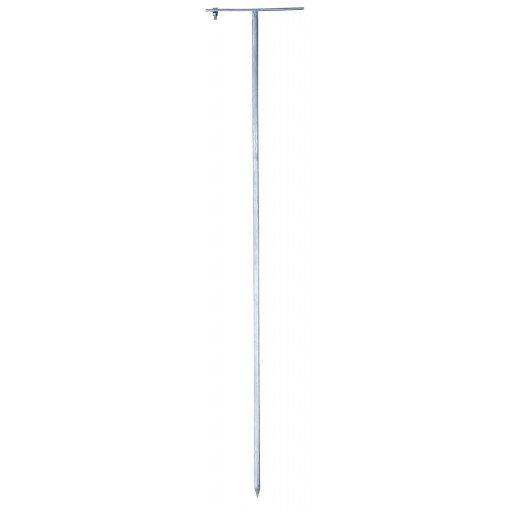 Spezial-Erdungsstab für den mobilen Einsatz mit 75 cm Länge aus verzinktem Stahl