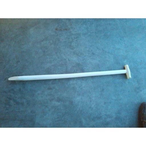 Spatenstiel T-Griff  90 cm