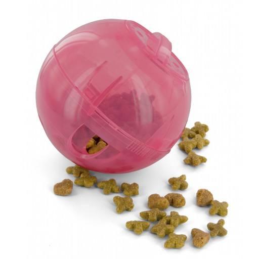 SlimCat™ in Pink - SlimCat™ bietet Katzenhaltern eine unterhaltsame Möglichkeit, ihr Haustier beim Kampf gegen Fettleibigkeit zu unterstützen.