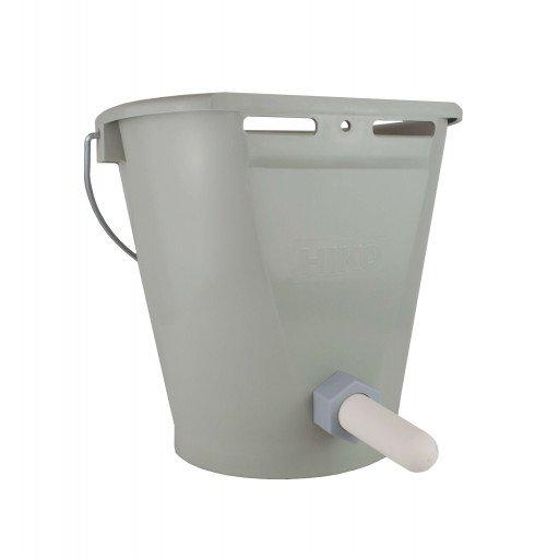 Original HIKO Kälbertränkeeimer TK 9 - Tränkeeimer für Kälber - leicht und stabil - stapelbar mit 9 Liter Volumen.