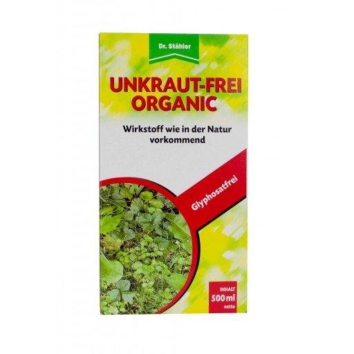Unkraut-Frei Organic 500 ml - Unkrautvernichter Herbizid Glyphosatfrei