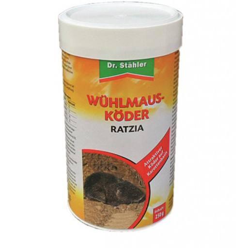 Wühlmaus Köder Ratzia 250 g von Dr. Stähler
