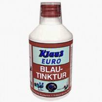 Klaus Euro-Blautinktur 300 ml (Blautropfen) schützt vor Verkeimung des Tränkenwassers - für Geflügel, Brieftauben, Ziervögel & Kleinnager