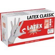 Latex Einmalhandschuhe 100 Stück Größe M