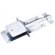 Stallriegel mit Schnappverschluss, verzinkt