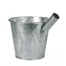 Jaucheschöpfer, verzinkt (6,5 Liter) - Gülleschöpfer mit Stielhalterung