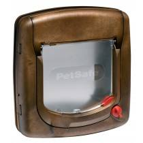 Staywell® Luxus manuelle Katzenklappe K320SGIFD holzfarben