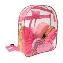 Putzrucksack in pink