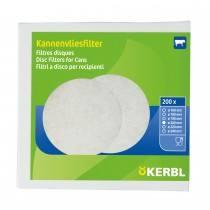 SANA Filterscheiben 100 % Viscose mit 25 g/m² Flächengewicht