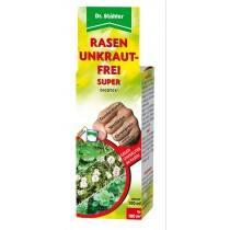 100 ml Dicotex® Rasen Unkraut-Frei Super von Dr. Stähler ist ein selektives Herbizid auf Rasenflächen. Es gibt Löwenzahn, Gänseblümchen, Klee, Ehrenpreis, Kreuzkraut, Ampfer, Gundermann keine Chance.