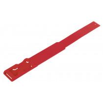 Fesselband EuroFarm, rot - Langzeit Markierung von Kerbl - Fesselbänder