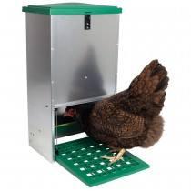 Futterautomat mit Trittklappe 20 kg
