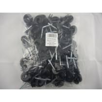 Ringisolator rund, durchgehende Stütze, Standard, 50 Stück/Packung