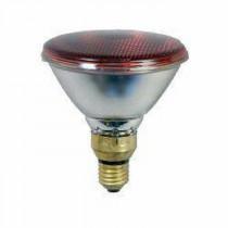 Infrarotbirne-Energiesparlampe EIDER 175 Watt mit E27 Sockel und PAR 38 Pressglas - robuste Ausführung