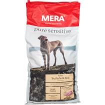 MERA pure sensitive mit Truthahn und Reis für sensible Hunde 12,5 kg getreidefrei glutenfrei