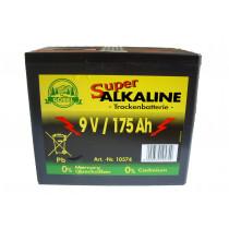Weidezaun Batterie 9 Volt 175 AH, Alkaline - ohne Cadmium und Quecksilber (Batterie)