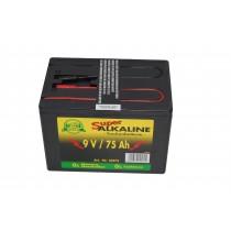 Weidezaun Batterie 9 Volt 75 AH, Alkaline