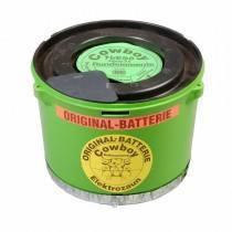 Weidezaun Batterie Cowboy 10,5 Volt Original, mit Kontakten
