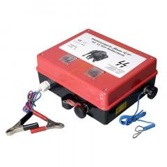 "EIDER Weidezaun-Batteriegerät ""Bison"" inklusive Erdungsstab!"