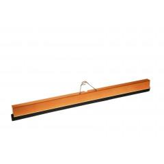 Wasserschieber (80 cm) aus Holz mit Gummilippe und Halter - beseitigt Wasser & Flüssigkeiten!