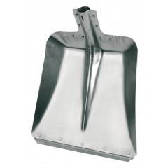 Aluschaufeln Größe 9, 36 cm mit Stahlkante