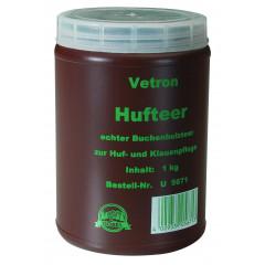 Dickflüssiger, hochwertiger Buchenholzteer, 1 kg - altbewährtes Mittel zur Huf- und Klauenpflege und preiswertes und sehr effektives Lockmittel für Sauen, Schwarzwild und Rotwild.