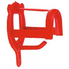 Trensenhalter in rot zum Aufhängen von Halftern, Trensen, etc - Stabile & robuste Ausführung