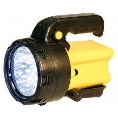 Taschenlampe mit LED und Halogenlicht