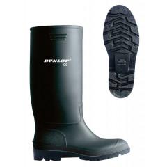 Dunlop Stiefel Pricemastor - klassischer, hoher & wasserdichter PVC Arbeitsstiefel