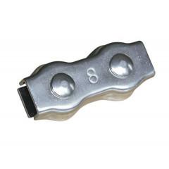 Seilverbinder, Edelstahl, für 8 mm Seil, 5 Stück SB