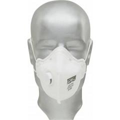 F-Feinstaub-Faltmaske P3 Tector mit Ventil 12 Stück/Pack