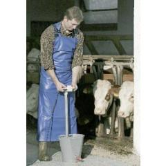 Melk- u. Waschschürze 80*120 cm blau