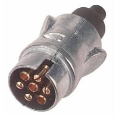 Stecker, 7-polig, Metall