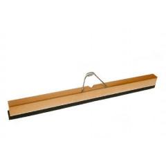 Wasserschieber 60 cm, Holz, mit Halter