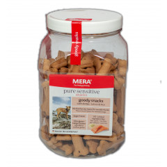MERA pure Sensitive Snacks Goody Lachs & Reis, 600 g