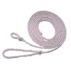 Polytau mit kleiner Schleife. Länge: 2,40 m, Farbe: Weiß.
