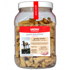 Hunde Snacks Mera Dog Goody Snacks Truthahn Reis