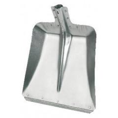 Aluschaufeln Größe 7, 32 cm mit Stahlkante