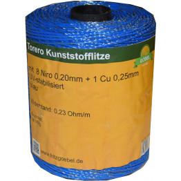 Torero Kunststofflitze 400m - blau