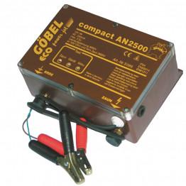 Compact AN 2500, Batteriegerät, ohne Batterie, für 12 Volt und 230 Volt in einem Gerät