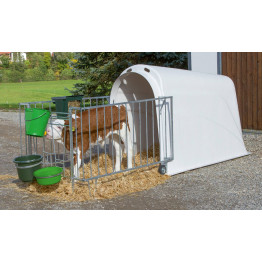 Calf House Master Plus, mit Umzäunung - Kälberhütte mit Einzäunung