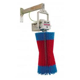 Kuhputzmaschine HappyCow Swing, rot/blau