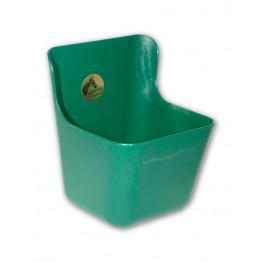Kunststoff Futtertrog 11,5 Liter grün
