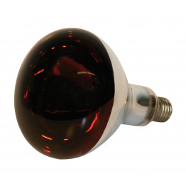 Infrarotbirne 250 Watt, Göbel Infrarotlampe 250 W Leistung E 27 Sockel