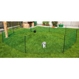 Kaninchennetz - Kleintierzaun - 65/1 12m grün mit Einzelspitze von Kerbl