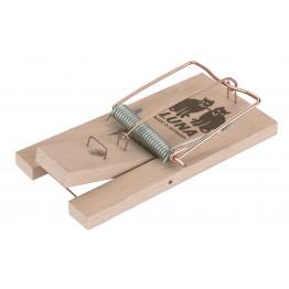 Rattenfalle Luna aus Holz, bewährte Fallentechnik