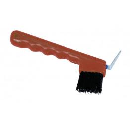 Hufkratzer mit Bürste zur Reinigung der Hufe - in verschiedenen Farben