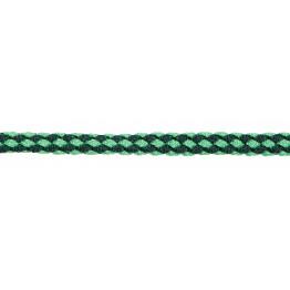 Führstrick Exklusiv, 200 cm. mit Panikhaken, dunkelgrün/pastellgrün