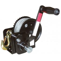 Seilwinde 20 m Seil x 5 mm mit automatischer Bremse,Seilzug Handwinde
