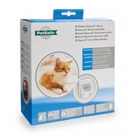 Staywell® Luxus-Magnetische Katzenklappe weiß K400SGIFD